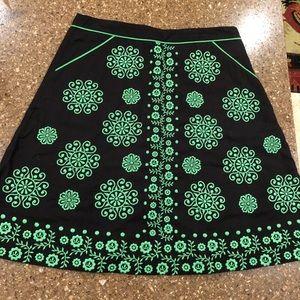 Anthropologie Lithe Skirt Size 8